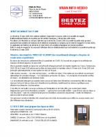 Visan info Lundi 20 avril 2020