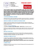 Visan info Mercredi 15 avril 2020